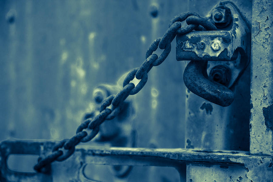 Chained And Moody Photograph  - Chained And Moody Fine Art Print