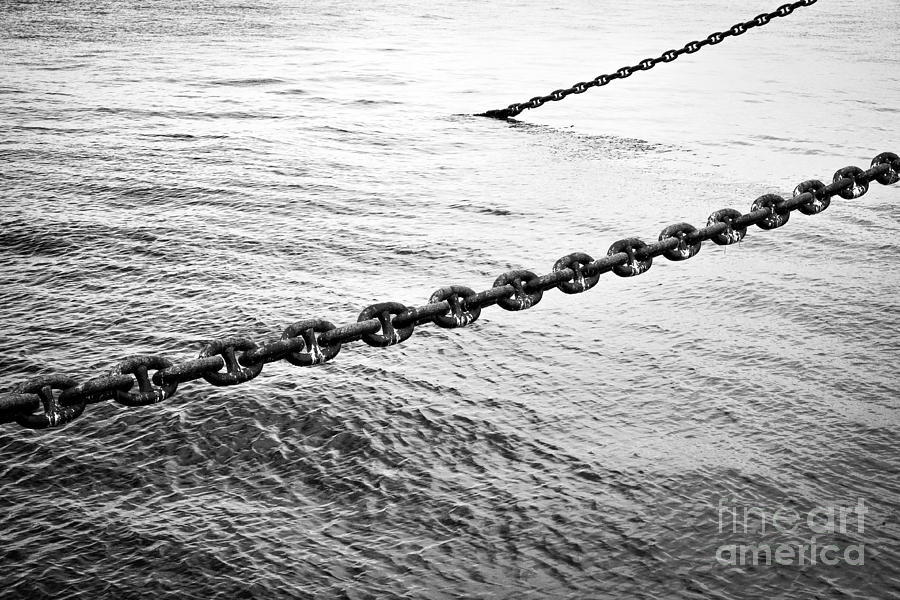 Chains Photograph  - Chains Fine Art Print