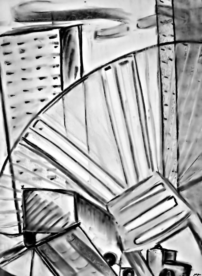 Chair..man Of The Industry Drawing