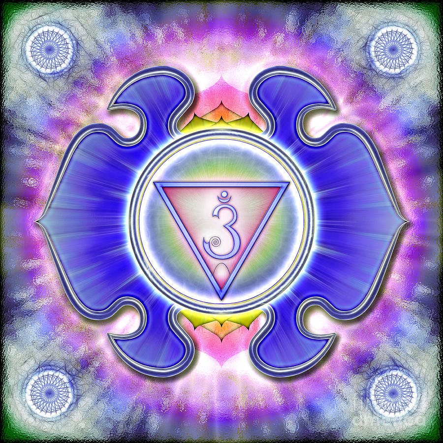 Chakra Ajna Series 2012 Digital Art