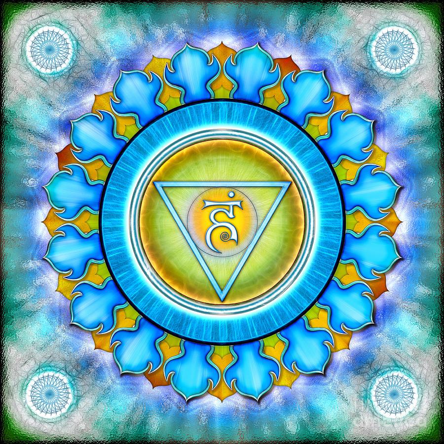 Chakra Vishuddha Series 2012 Digital Art