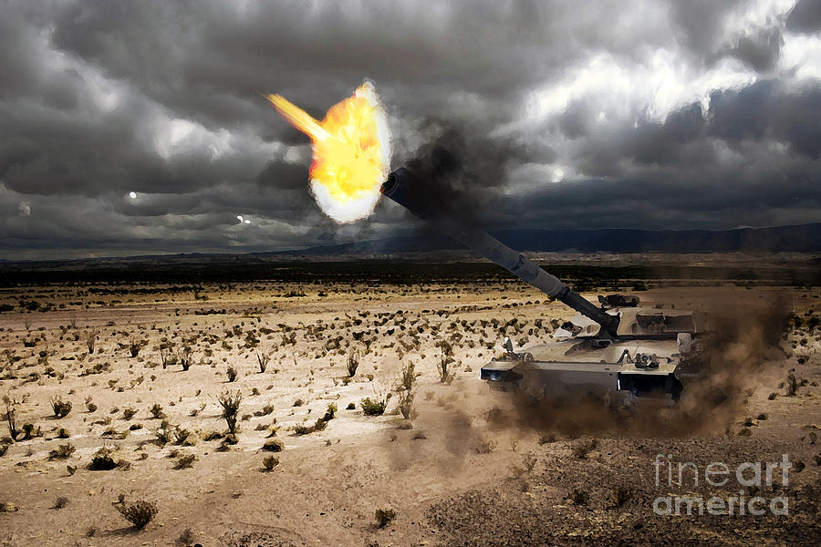Challenger 1 Digital Art