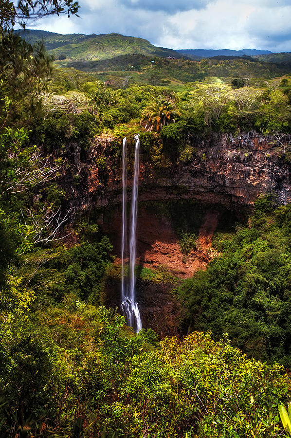 Chamarel Waterfall 1. Mauritius Photograph