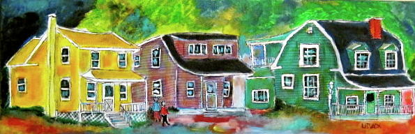 Chambly Painting - Chambly Quebec by Michael Litvack