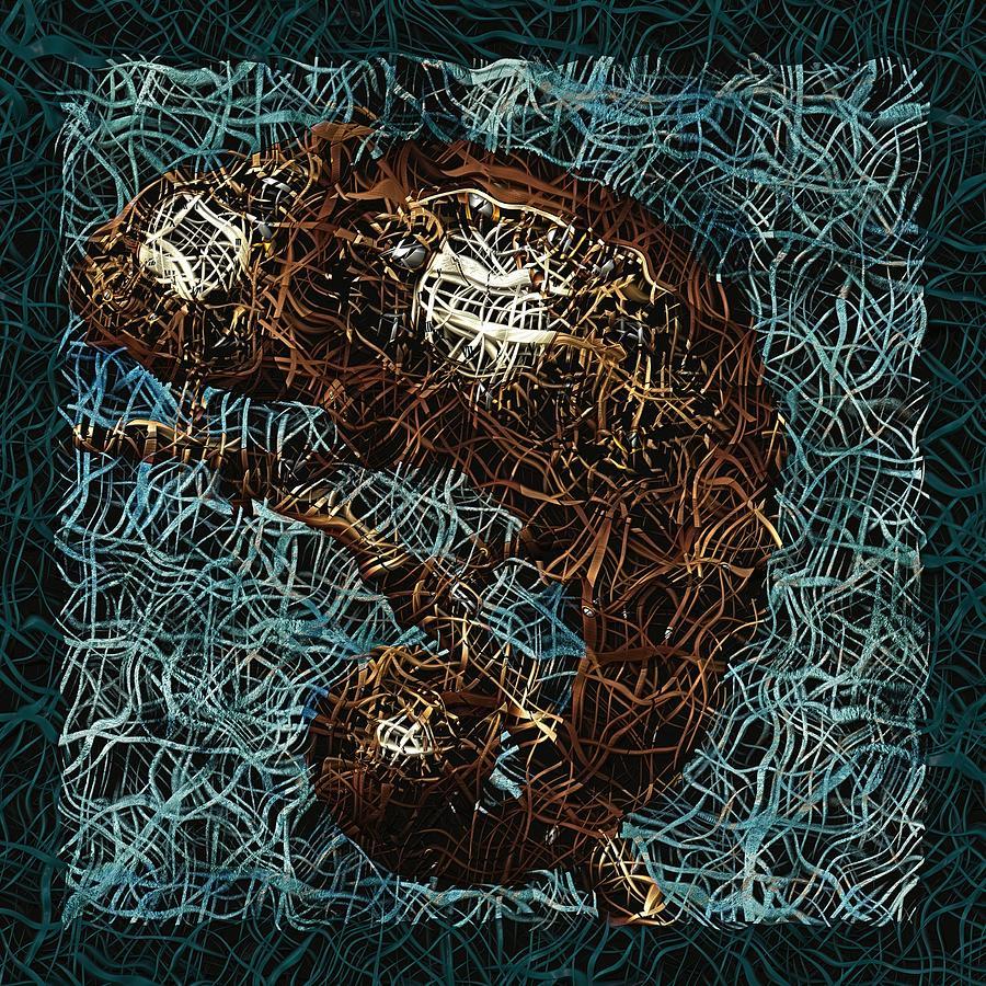 Chameleon - Fb0102b Digital Art