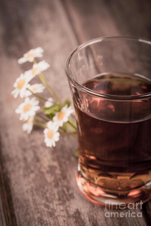 Chamomile Tea Retro Photograph