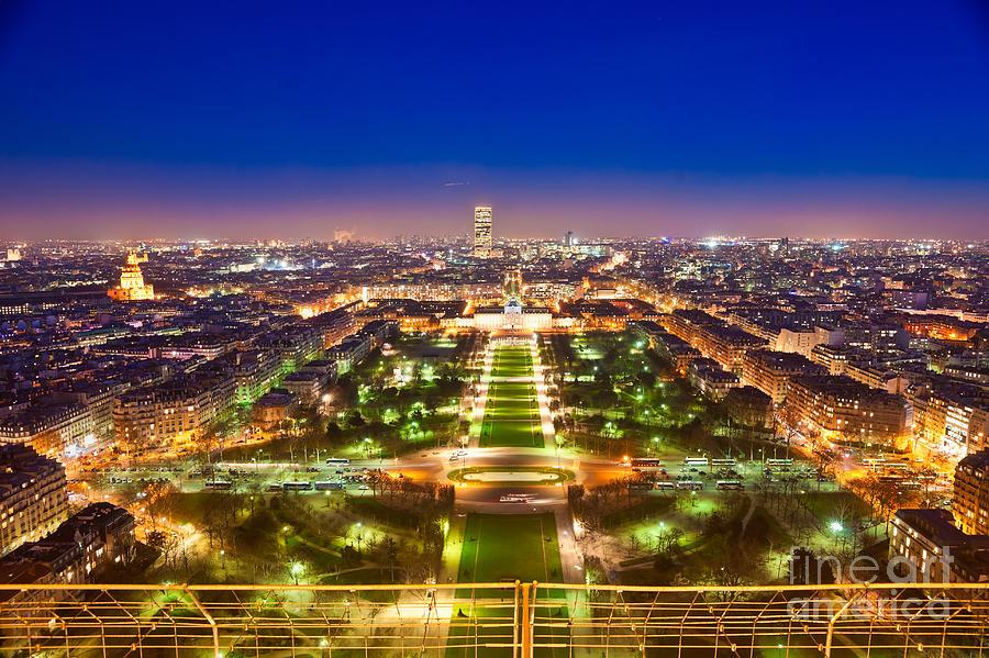 Champ De Mars Paris By Luciano Mortula
