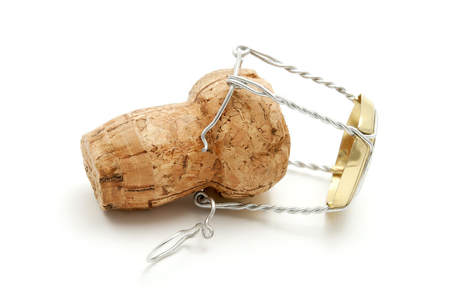 Champagne Cork Stopper Photograph