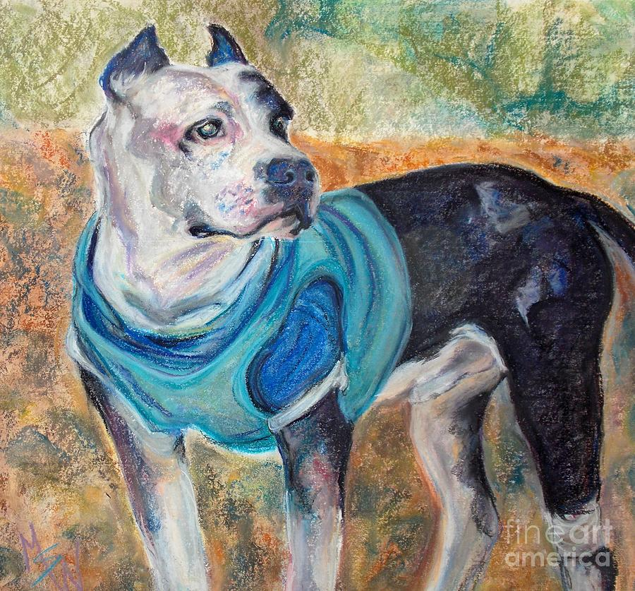 Brightside Animal Center Pastel - Chance  by Mindy Sue Werth