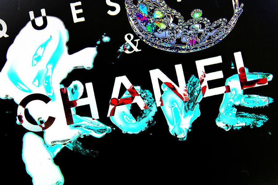 Chanel Love Black Photograph