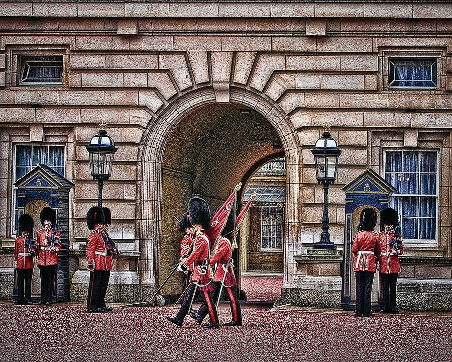 Changing Of The Guard Photograph