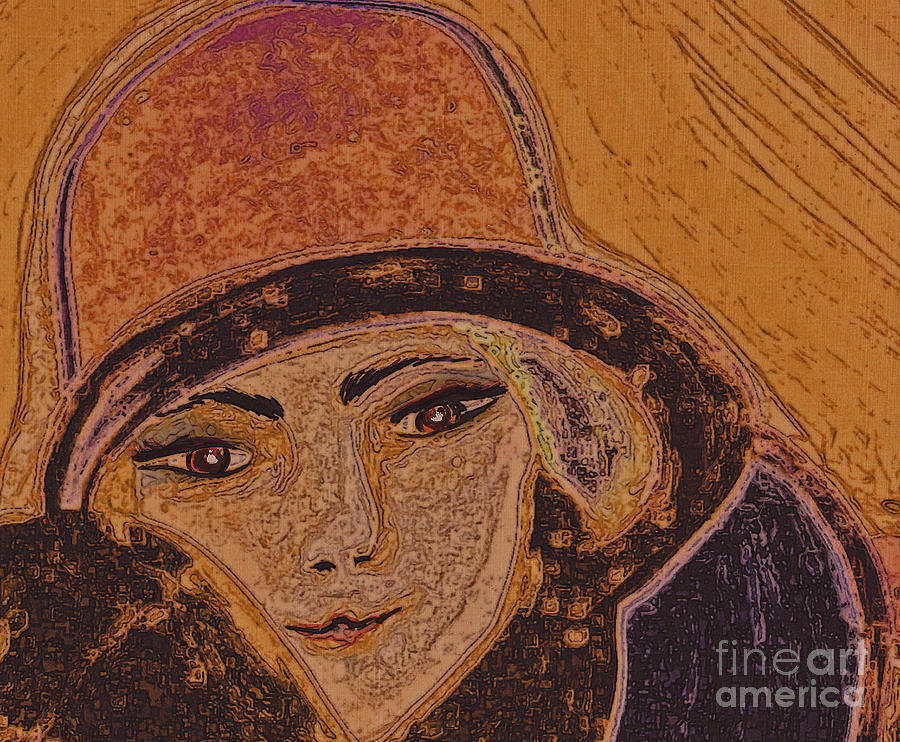 Chapeau By Jrr Painting  - Chapeau By Jrr Fine Art Print