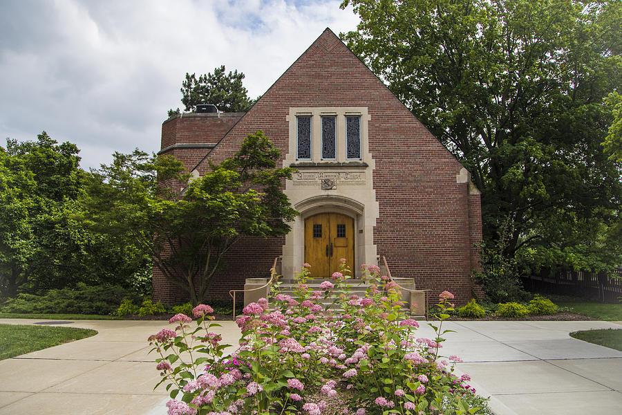 Chapel At Michigan State University Photograph By John Mcgraw