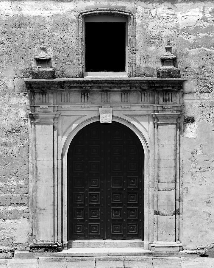 Chapel Photograph - Chapel Doors by Erin Tucker