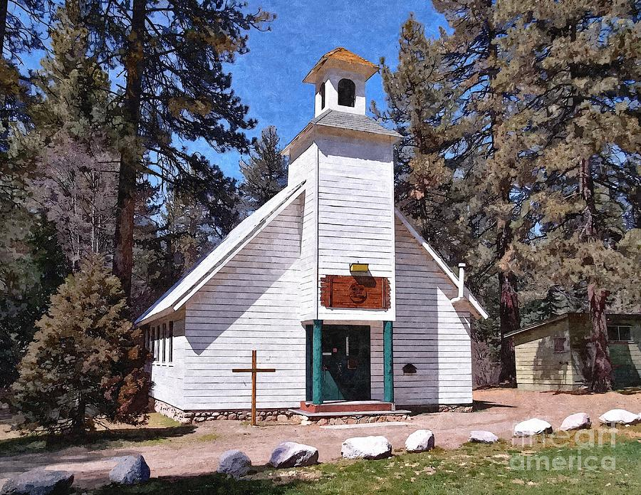 Chapel On The Mountain Photograph