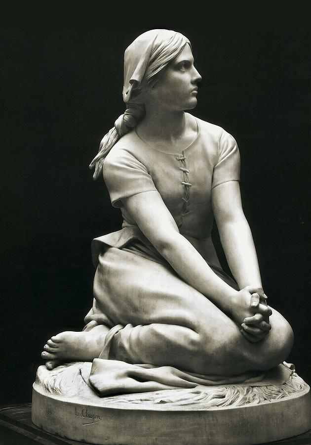 Vertical Photograph - Chapu, Henri-michel-antoine 1833-1891 by Everett