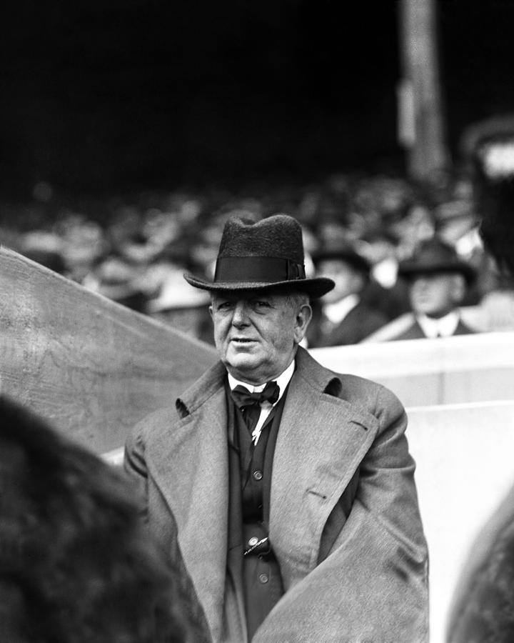 Charles A. (charlie) Comiskey Manager Photograph