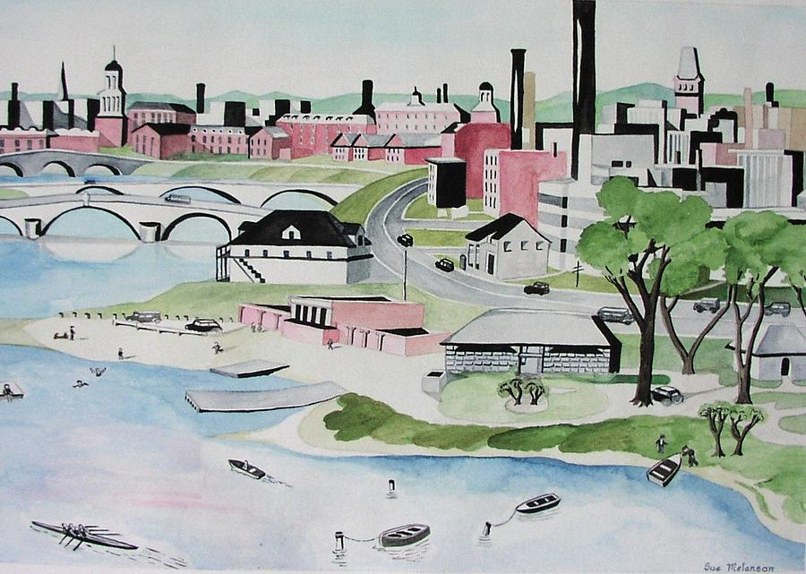 Charles River Painting