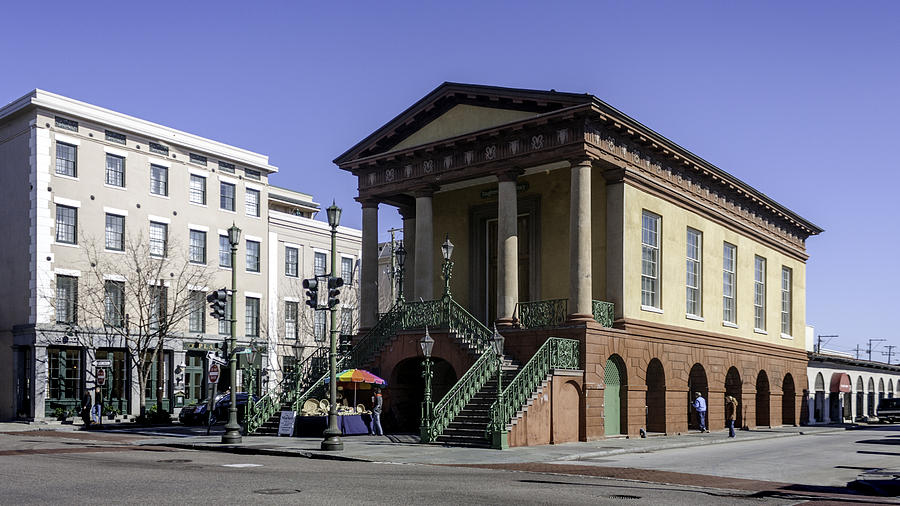 Charleston City Market Hall And Sheds Photograph