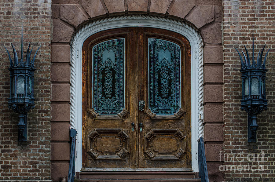 Charleston Doors Photograph