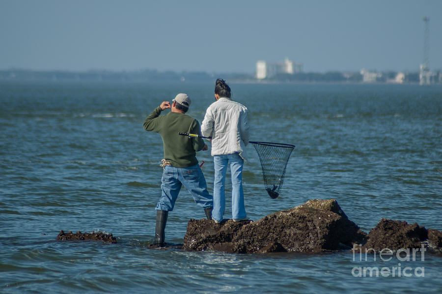 Charleston Fishing Photograph