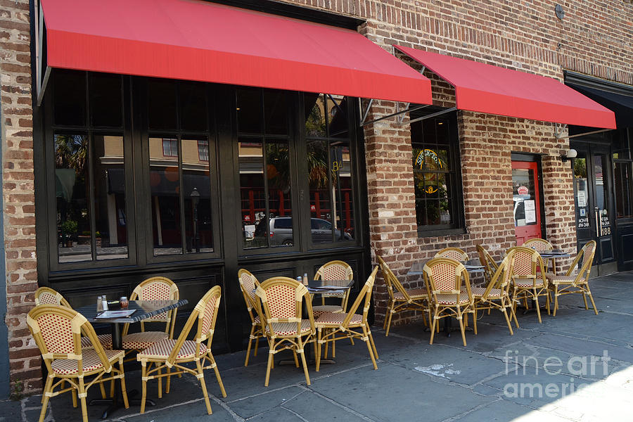 French Restaurant Outdoor Cafe - Rue De Jean - Charleston French Cafe ...