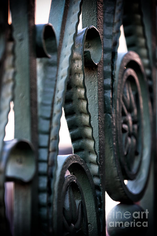 Charleston Iron Photograph - Charleston Iron by John Rizzuto