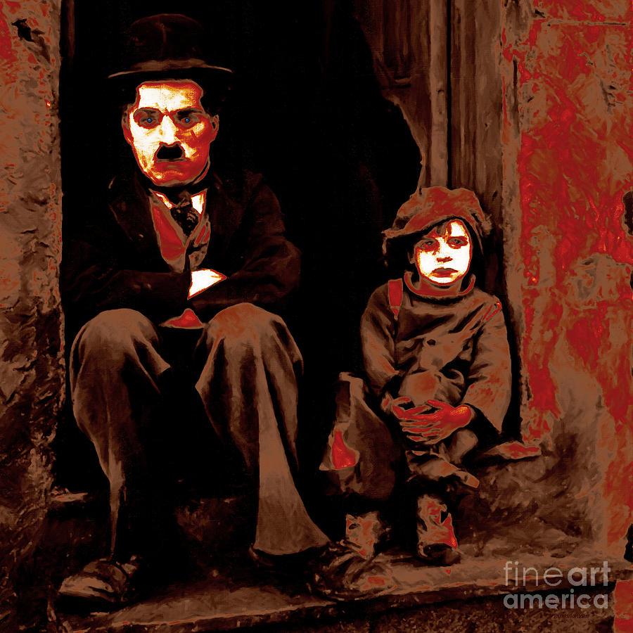 Charlie Chaplin 20130212-2-square Photograph