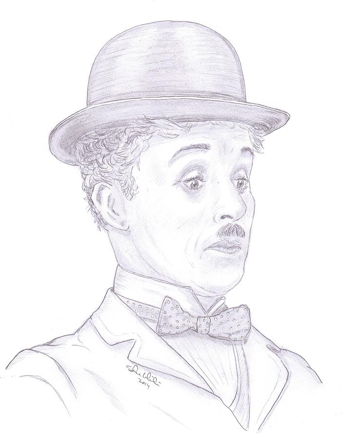 Charlie Chaplin Drawing