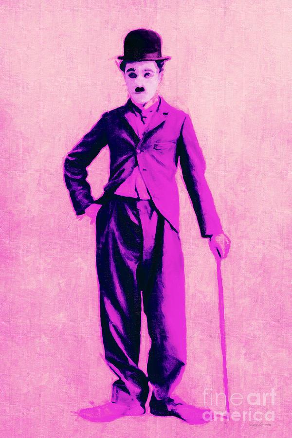 Charlie Chaplin The Tramp 20130216 Photograph