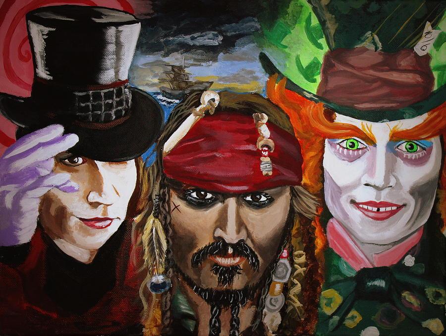 Charlie Jack Hatter Painting