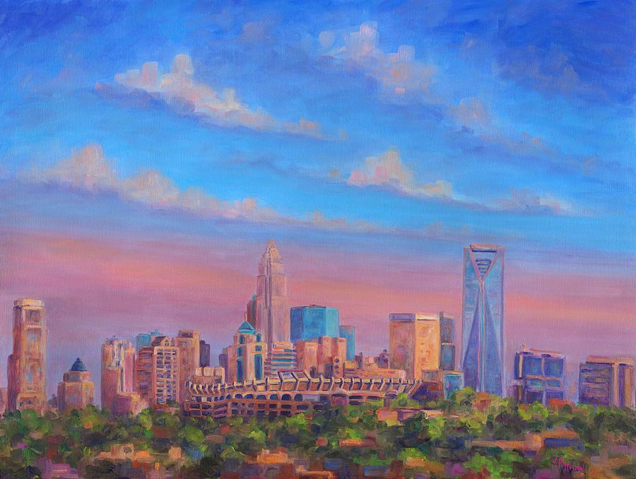 Charlotte Painting - Charlotte Skies by Jeff Pittman