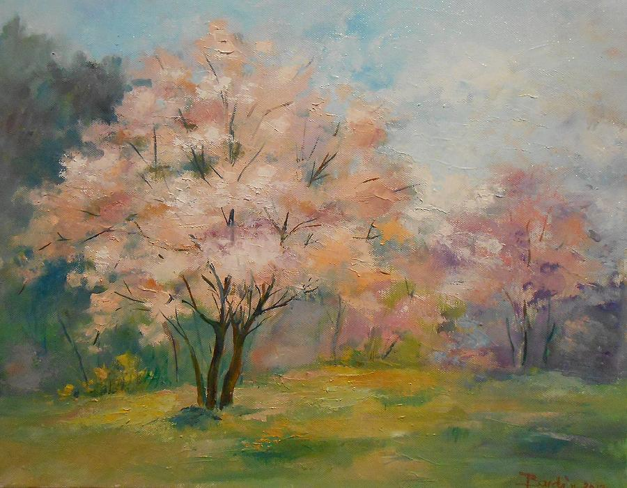Charm Of Springtime Painting