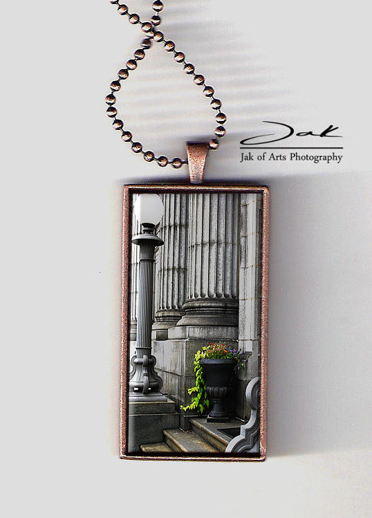 Chasing Away The Gray Handcrafted Necklace Jewelry  - Chasing Away The Gray Handcrafted Necklace Fine Art Print
