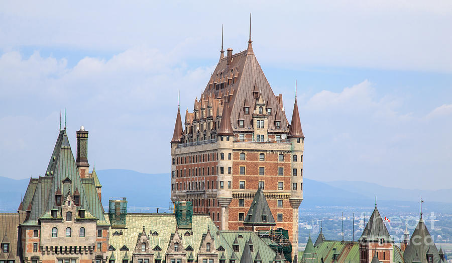 Chateau Frontenac Quebec City Canada Photograph