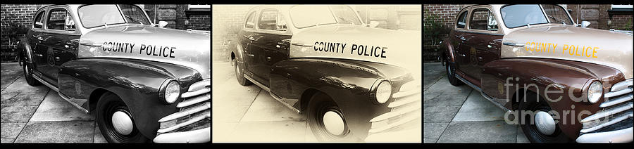 Chatham County Police Collage Photograph  - Chatham County Police Collage Fine Art Print