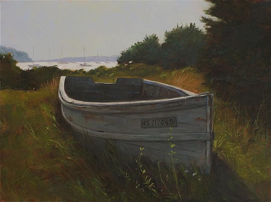 Chatham Skiff Painting
