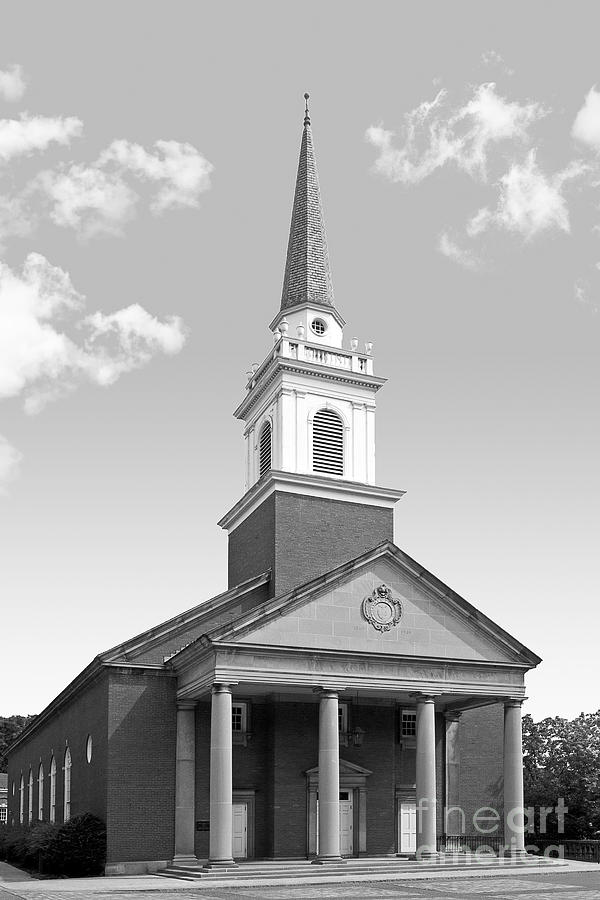 Chatham University Campbell Memorial Chapel Photograph  - Chatham University Campbell Memorial Chapel Fine Art Print