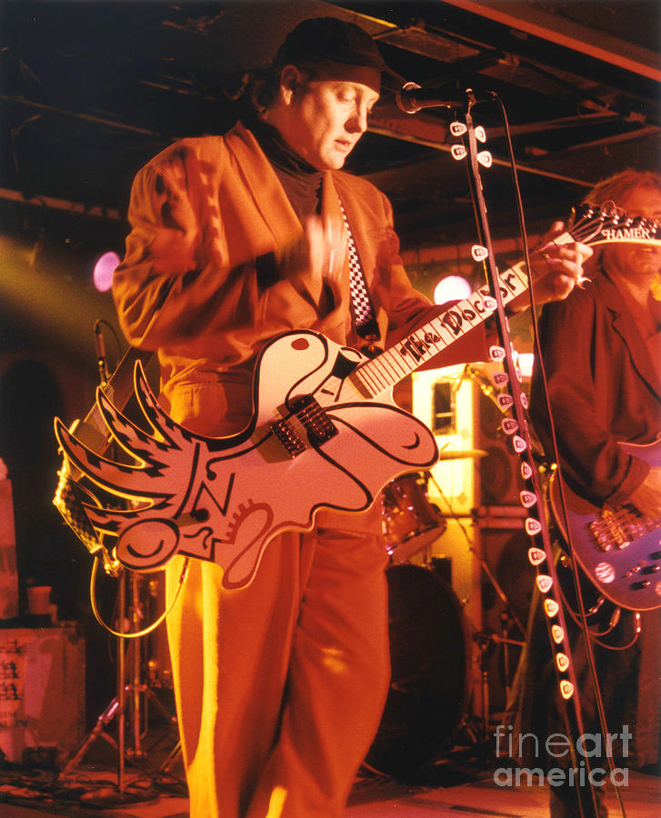 Cheap Trick Photograph - Cheap Trick-93-rick-3 by Gary Gingrich Galleries