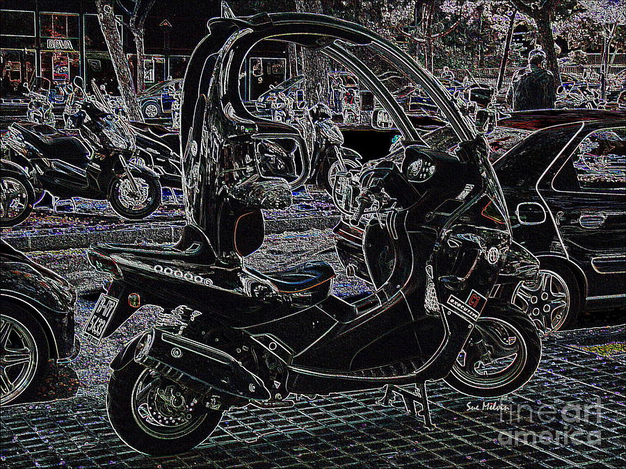 Check Out My Ride Digital Art