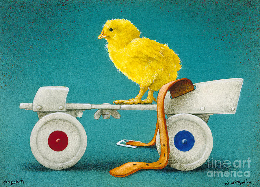 Will Bullas Painting - Cheepskate... by Will Bullas