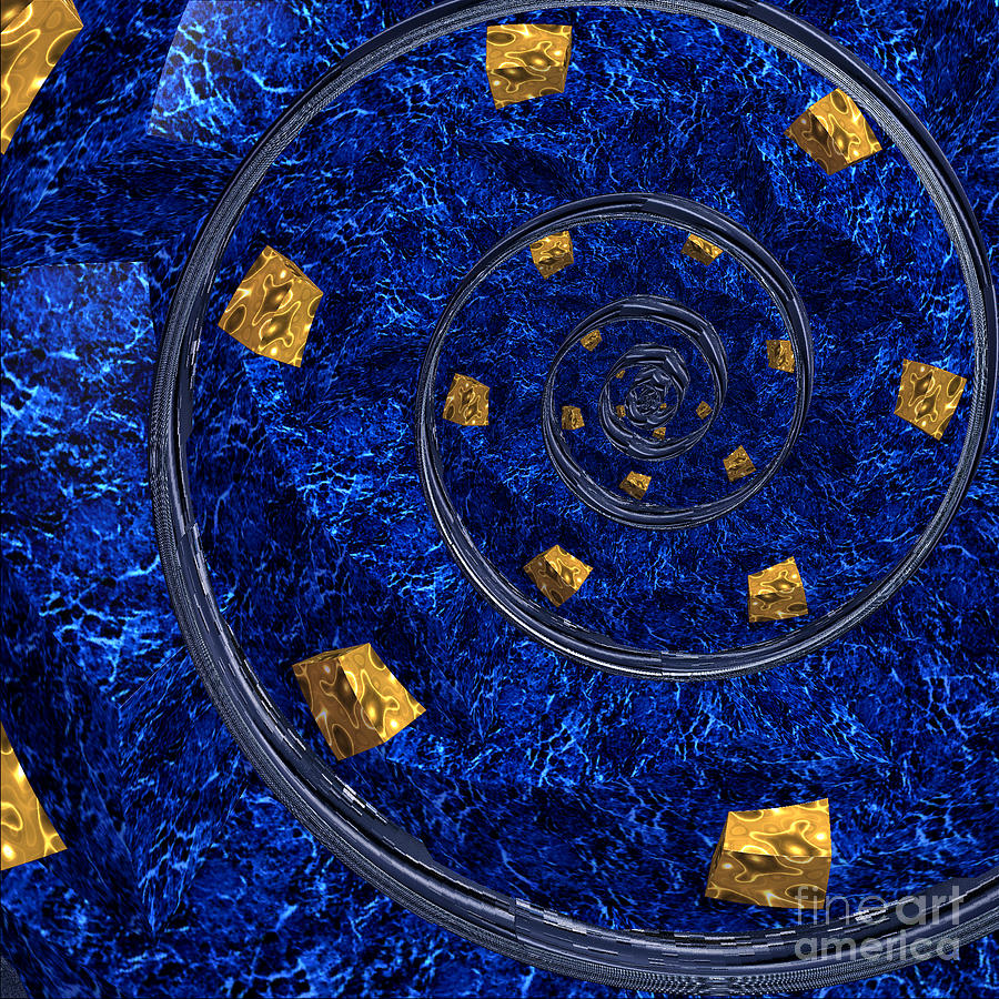 First Star Art Digital Art - Cheese Sea By Jammer by First Star Art