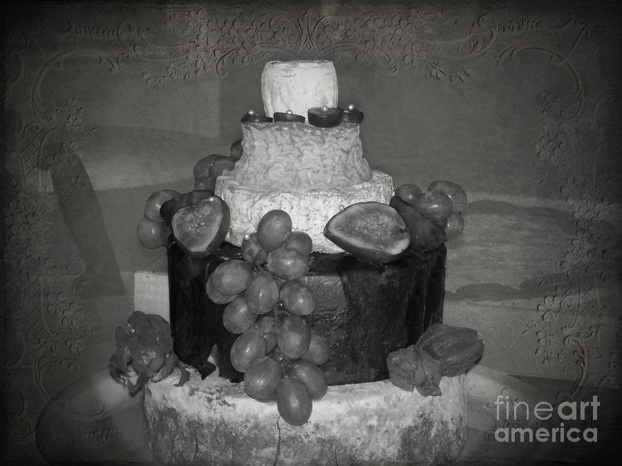 Cheesey Wedding Cake Photograph