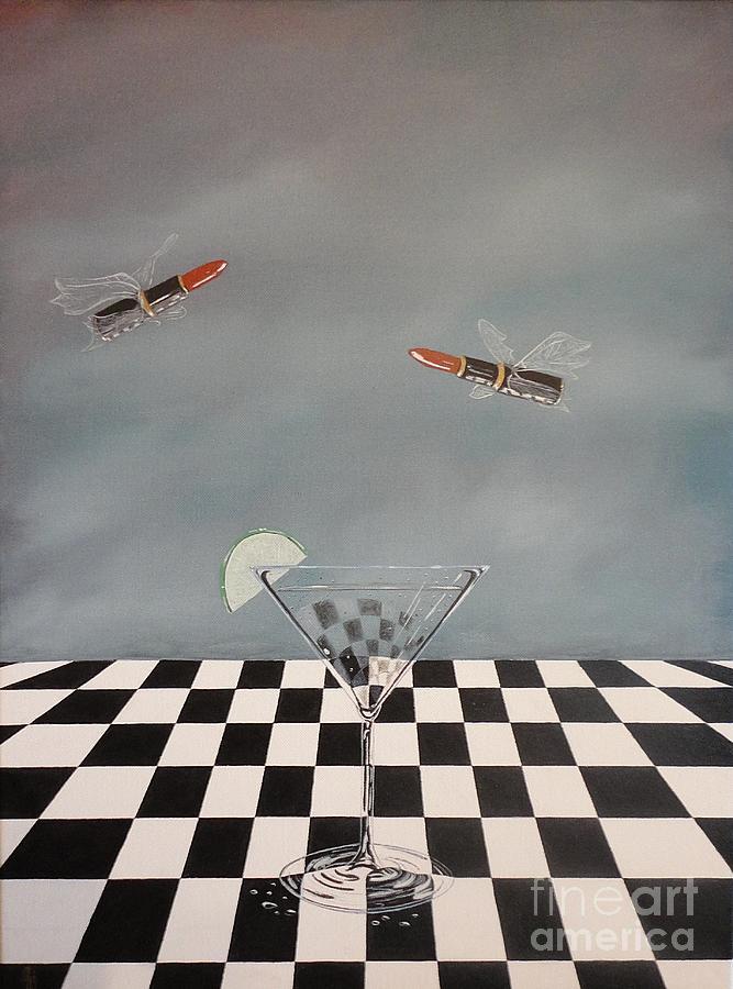 Chellas Martini Painting