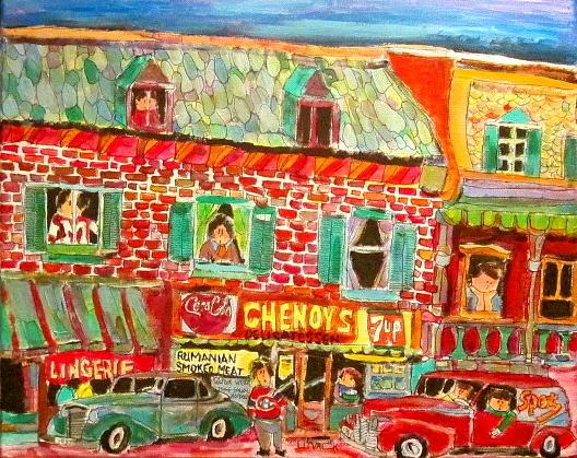 Chenoys 1940 Painting