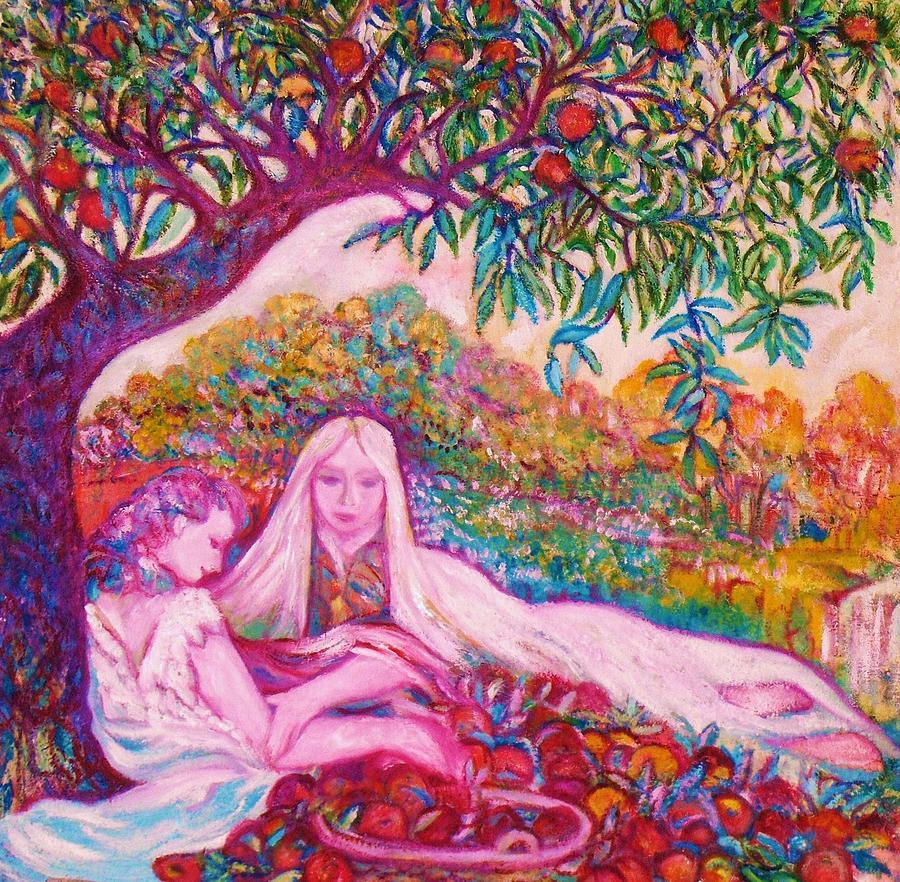 Cher Chez La Femme - Art Deco Painting