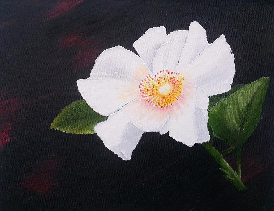 Cherokee Rose Painting By Valorie Cross