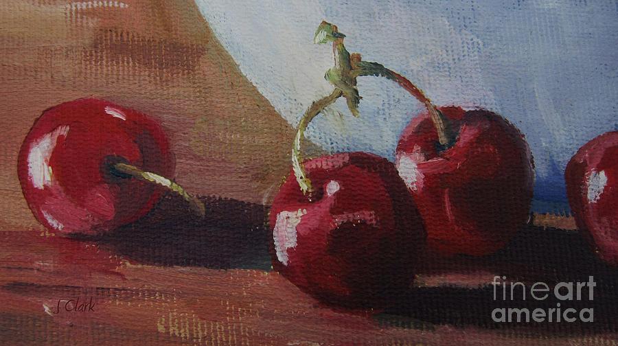 Cherries 2 Painting