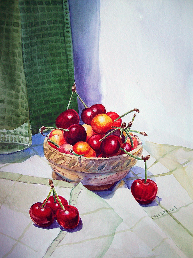 Cherries Painting  - Cherries Fine Art Print