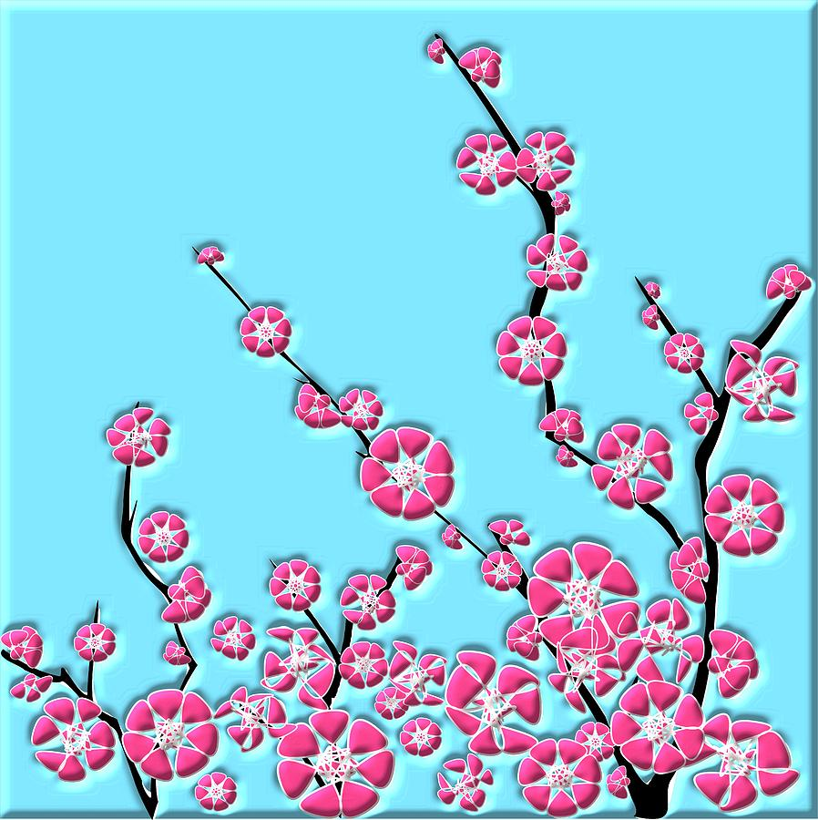 Cherry Blossom Digital Art